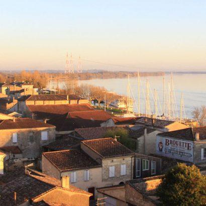 bourg-sur-gironde-village